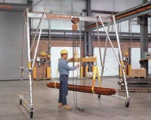 Portable Gantry Cranes | Wallace Cranes
