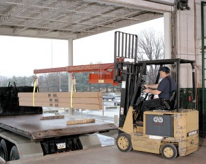 Forklift Crane | Forklikft Jib Boom Attachment - Wallace Cranes