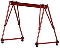 Crane Inspection, Assembly, and Safe Operation Instructions   Triadjustable Crane   Wallace Cranes